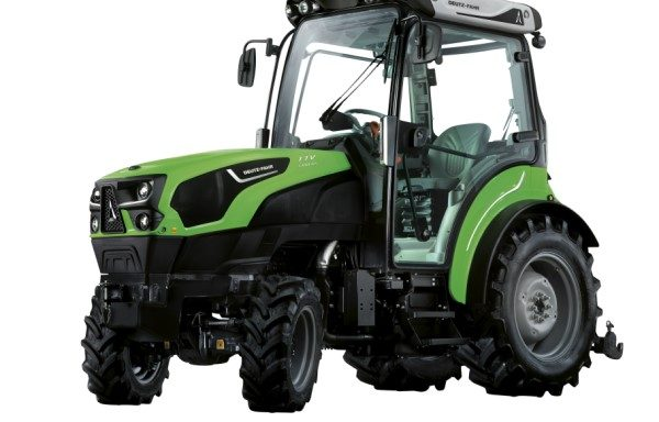 Deutz-far traktor Agrotron  5000 DS TTV, smalspor